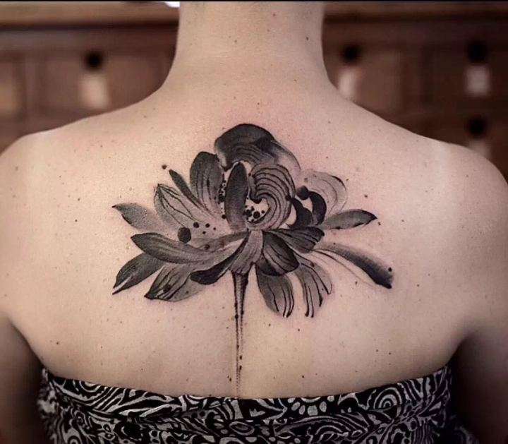 Chinese style tattoos