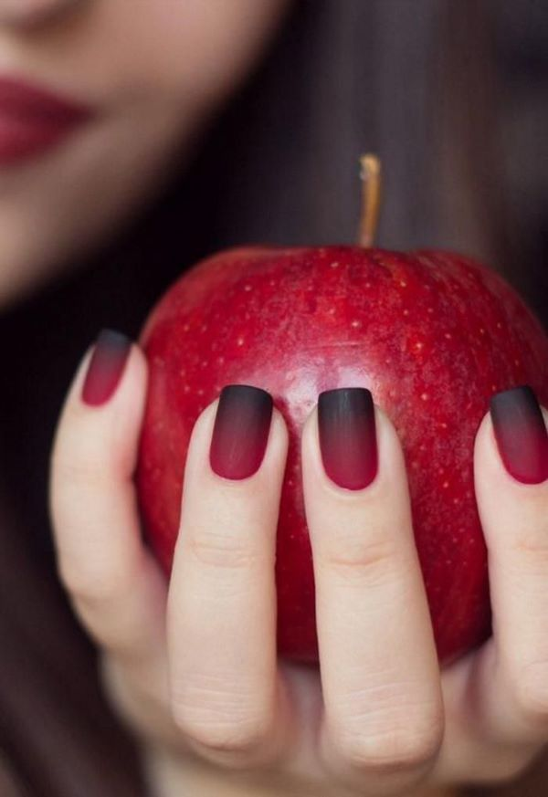 45 Charming Matte Nail Designs To Try This Fall; Nail designs fall; matte nails for long or short nails; acrylic matte nails; coffin matte nails; round matte nails; ombre matte nails.