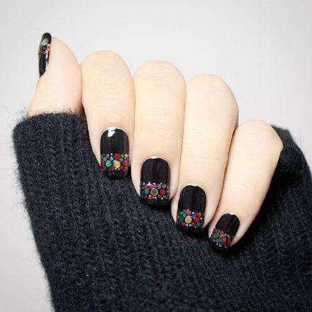 Charming Nail Art Designs For Short Nails