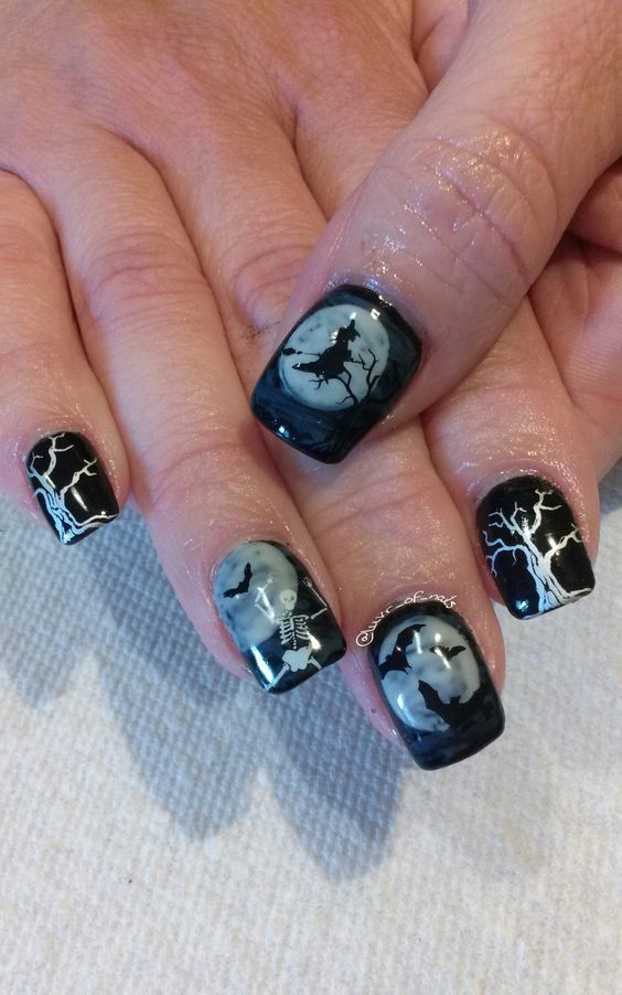 20+ Cool Halloween Look for Short Nails - Page 4 of 25 ...