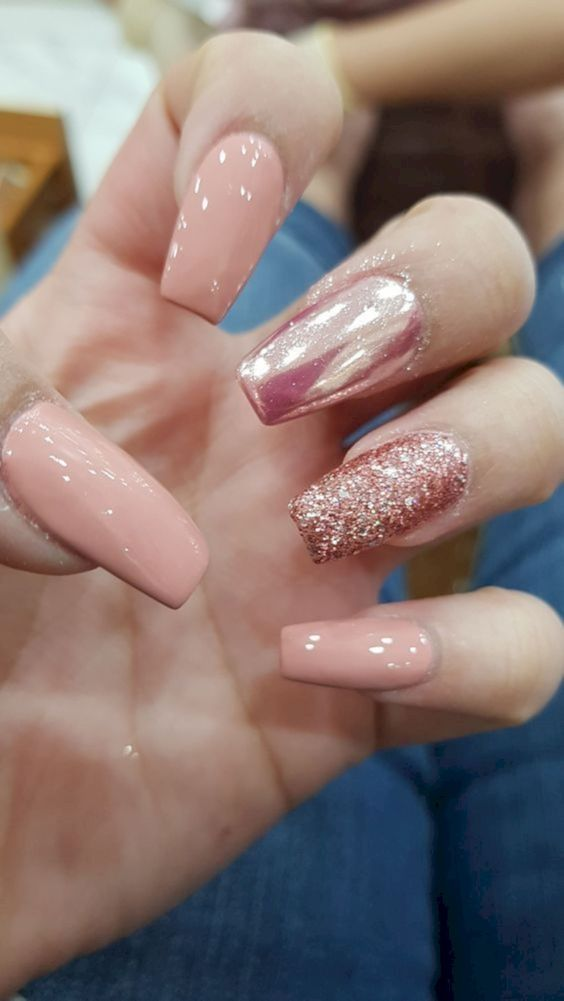 24 Stunning Glitter Nail Art Designs That You Will Love to Try ...