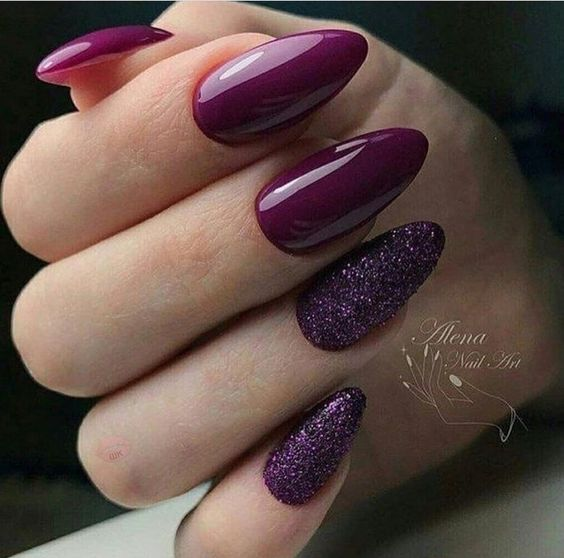45 Simple and Charming Wine Red Nail Art Designs; Fall burgundy nails;Wine Red Stiletto Nails;Burgundy Wine Nail Color   Long Square Coffin Acrylic Nails   Shimmer Nail Art and Nail Design;Wine Red acrylic nails;dark burgundy red nail polish