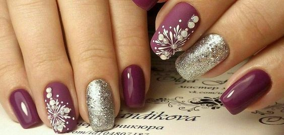 36 Perfect And Outstanding Nail Designs For Winter 2018 Page 18 Of