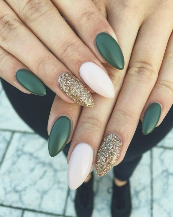 36 Perfect And Outstanding Nail Designs For Winter 2018 Page 12 Of