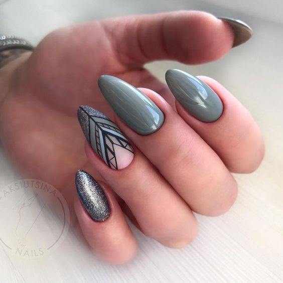 36 Perfect And Outstanding Nail Designs For Winter 2018 Page 27 Of