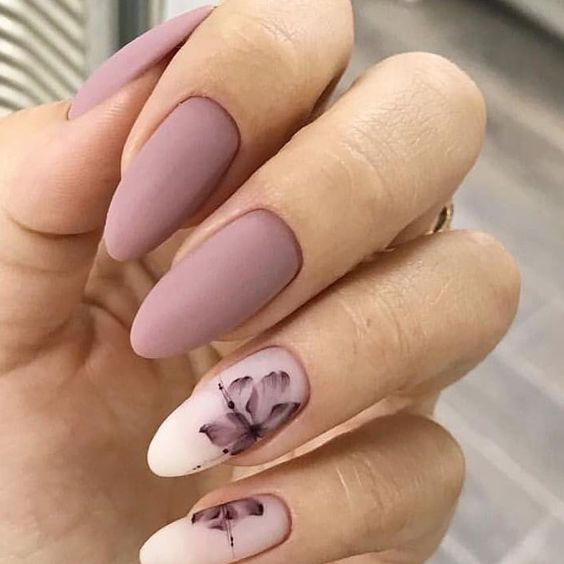 36 Perfect And Outstanding Nail Designs For Winter 2018 Page 28 Of