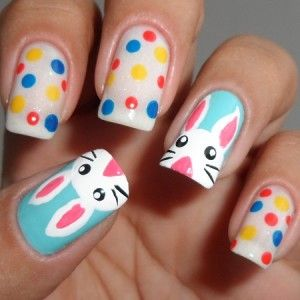 35 cute and easy easter nail designs for 2019  page 29 of