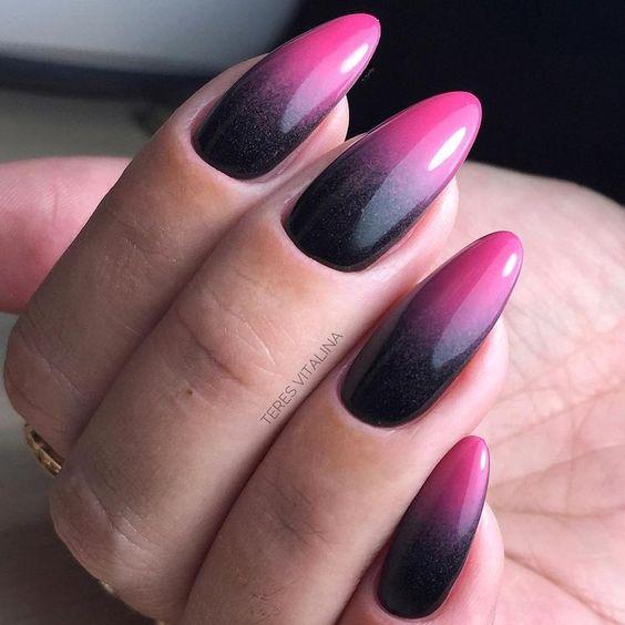 28 Gorgeous Almond Acrylic Nails You Won't Resist;almond nails long or short; almond nails designs; almond nails fall; almond acrylic nails.