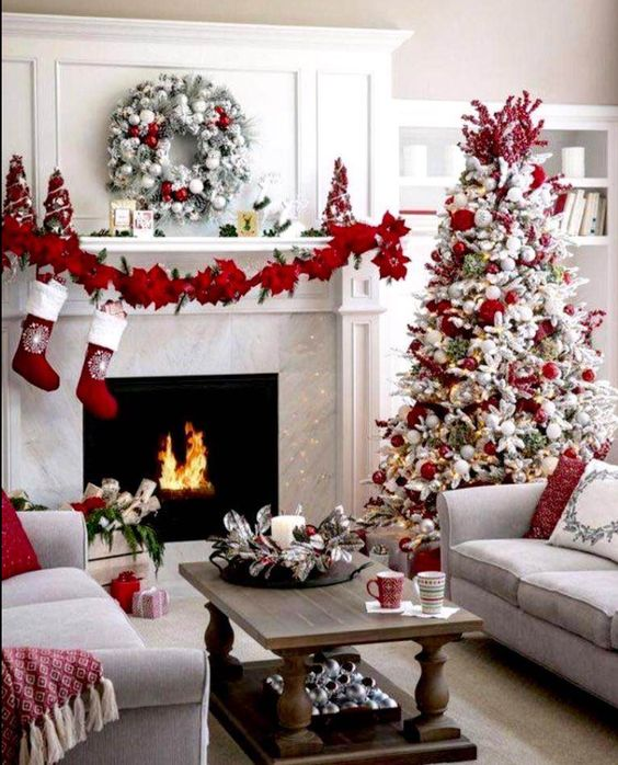 28 Beautiful Red Home Decorations To Make Your Holiday Bright and Merry; Christmas decorations. Christmas kitchen; Snowman Door; toilet seat cover; chair covers; Holiday crafts; home decor.