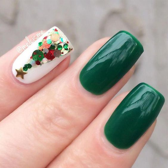 50 Easy And Eye Catching Christmas Nail Designs Page 40 Of 57