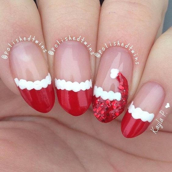 50+ Easy and Eye-catching Christmas Nail Designs