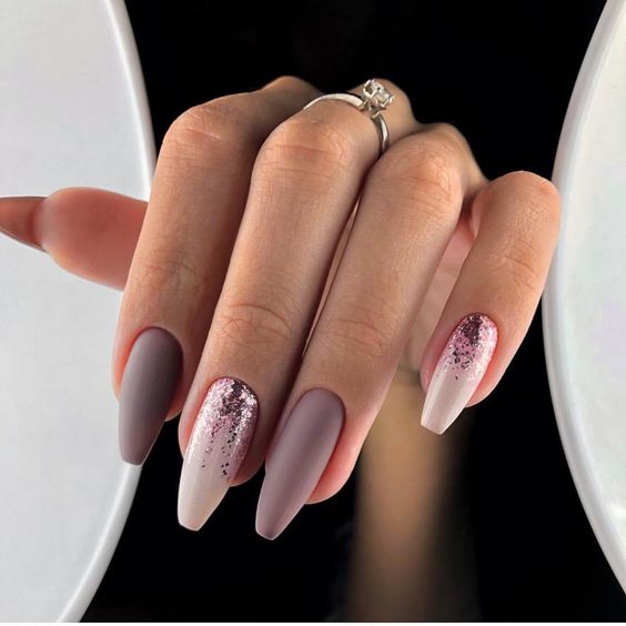 51 Stylish Acrylic Nail Designs for New Year 2019 , SeShell Blog