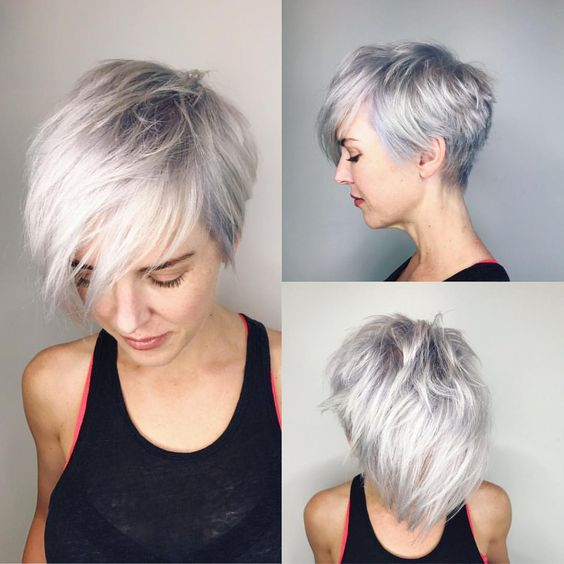 Stylish Pixie Haircut; mind-blowing short hairstyle; Short pixie haircuts; jazzy short cuts; Super Muy Corto Pixie Cortes de pelo Y Colores de Pelo para 2018-2019