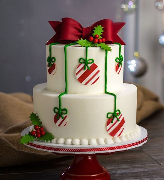 62 Awesome Christmas Cake Decorating Ideas And Designs Page 26 Of 62 Seshell Blog
