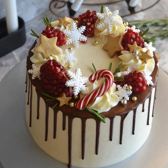 Easy Christmas Cake Decorating Ideas For Beginners.62 Awesome Christmas Cake Decorating Ideas And Designs