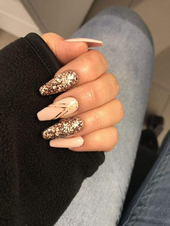 Acrylic Nail Designs for New Year 2019