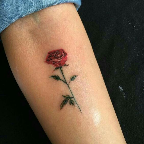 55 Awesome Tiny Rose Tattoos For Women Page 42 Of 54 Seshell Blog