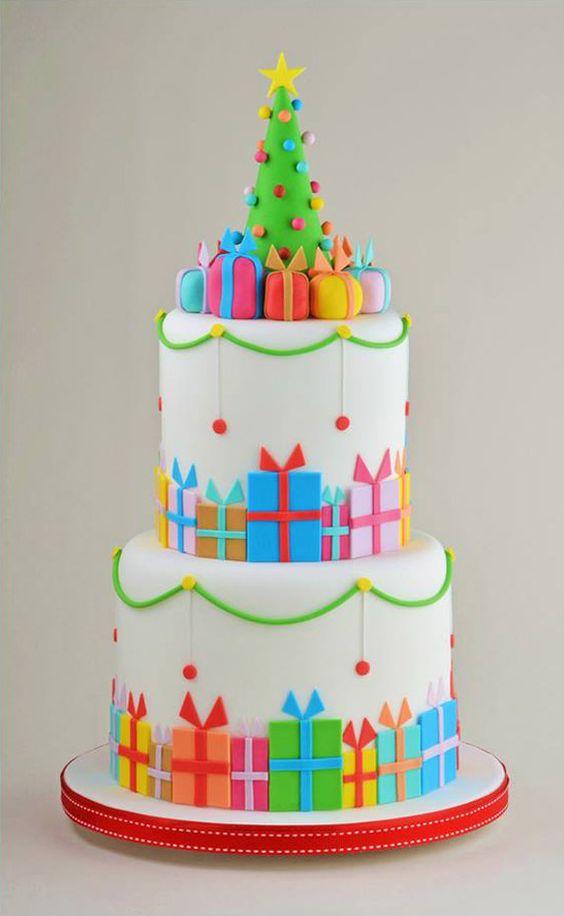 Christmas Cake Ideas.62 Awesome Christmas Cake Decorating Ideas And Designs
