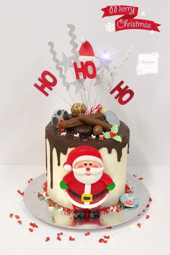Christmas Cake Designs.62 Awesome Christmas Cake Decorating Ideas And Designs
