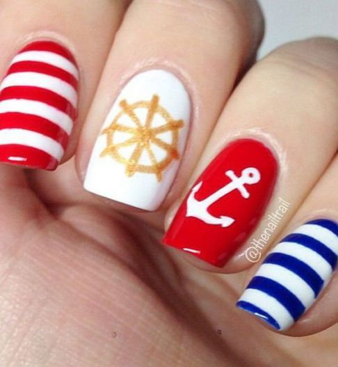 summer nails; nails verano; nail colors; beach color nails; bright nail art ideas; cute nail designs 2019.