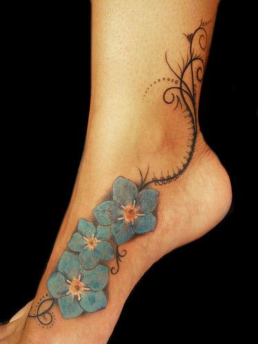 Tattoo is a symbol of beauty, mystery, sensuality and charm