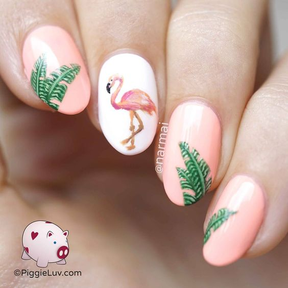 summer nails; nails verano; nail colors; beach color nails; bright nail art ideas; cute nail designs 2019.