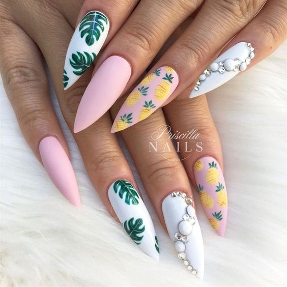 57 Nail Designs That Are So Perfect For Summer 2019 Page 49 Of 57