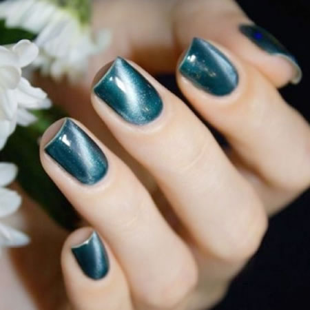 2019 popular cat eye nail art pictures