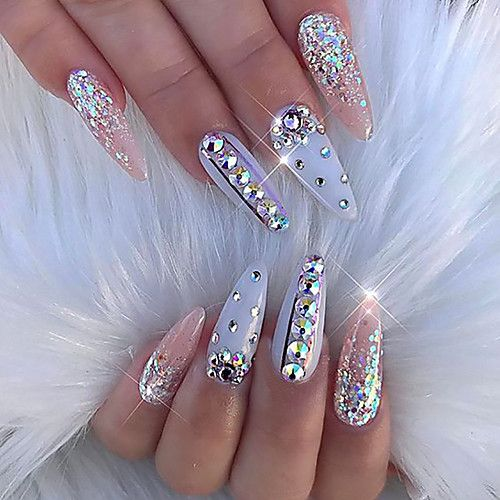20+ SUPER NICE AND HIGH-QUALITY SPARKLING NAILS