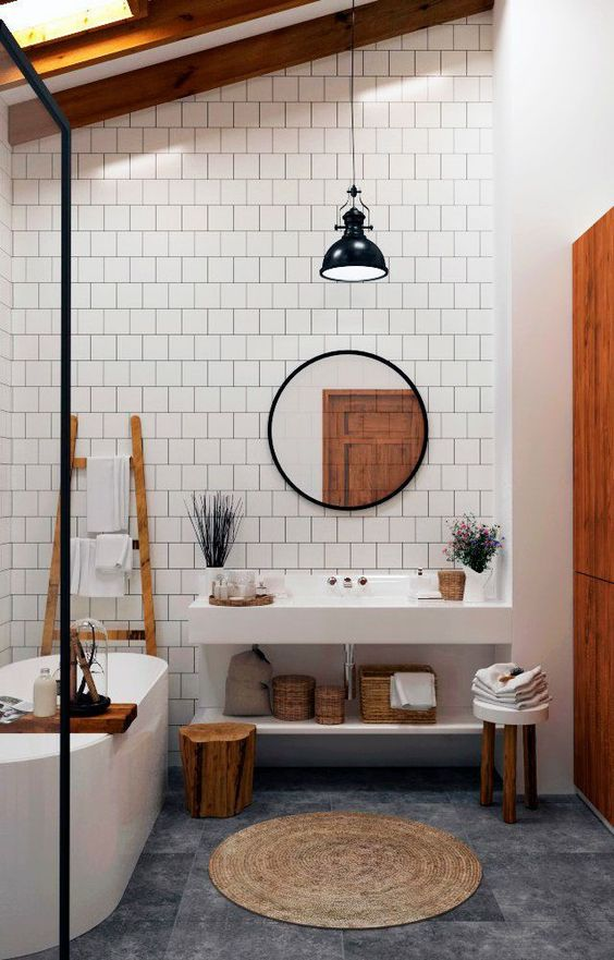 24 Amazing Bathroom Mirror Designs