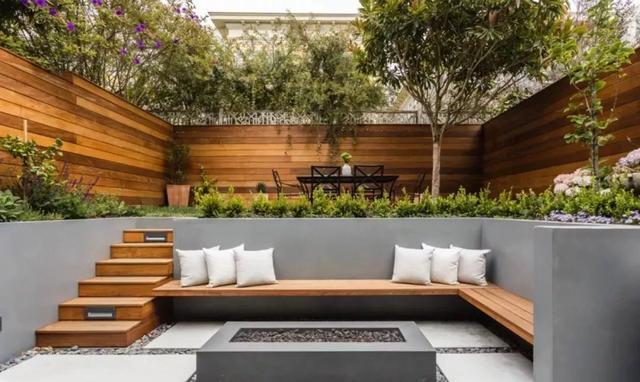 Super Beautiful Modern Courtyard Design #courtyard