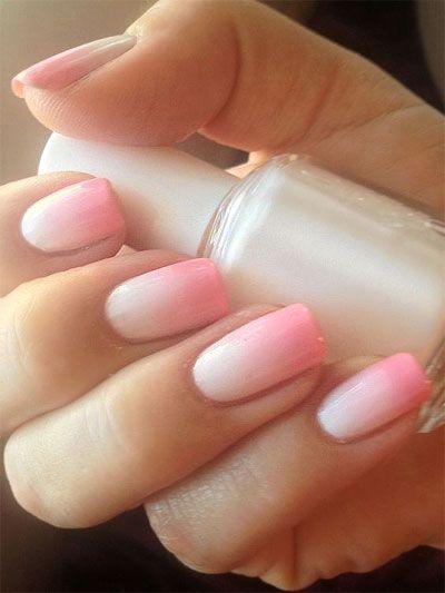 Pink Girly Manicure Style #nail #summernail #pinknail
